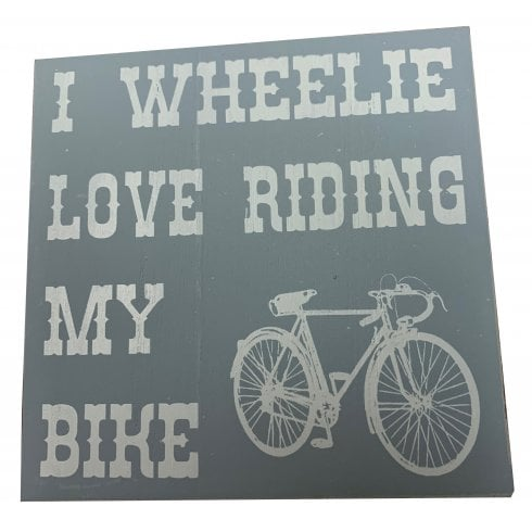Richard Langs Cycling Coaster-  I Wheelie Love Riding My Bike