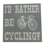 Richard Langs Cycling Coaster- I'd Rather Be Cycling