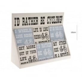 Richard Langs Cycling Coaster- Life Is Like Riding A Bicycle