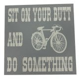 Richard Langs Cycling Coaster- Sit On Your Butt And Do Something