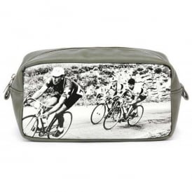 Cycling Men's Monochrome Wash Bag by Catseye