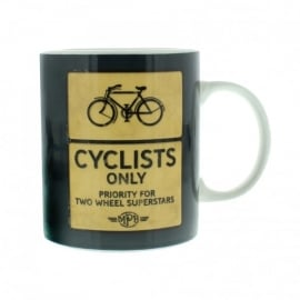 Widdop Cyclists Road Sign Mug
