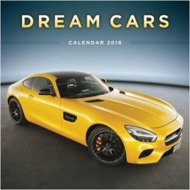 Carousel Calendars Dream Cars Calendar 2018