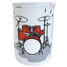 Music Gifts Company Drum Kit Bone China Mug