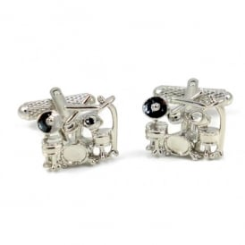 Onyx-Art Drum Kit Cufflinks