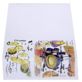 Little Snoring Drums Slant Pad