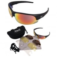 Mile High Edge Black Cycling Sunglasses