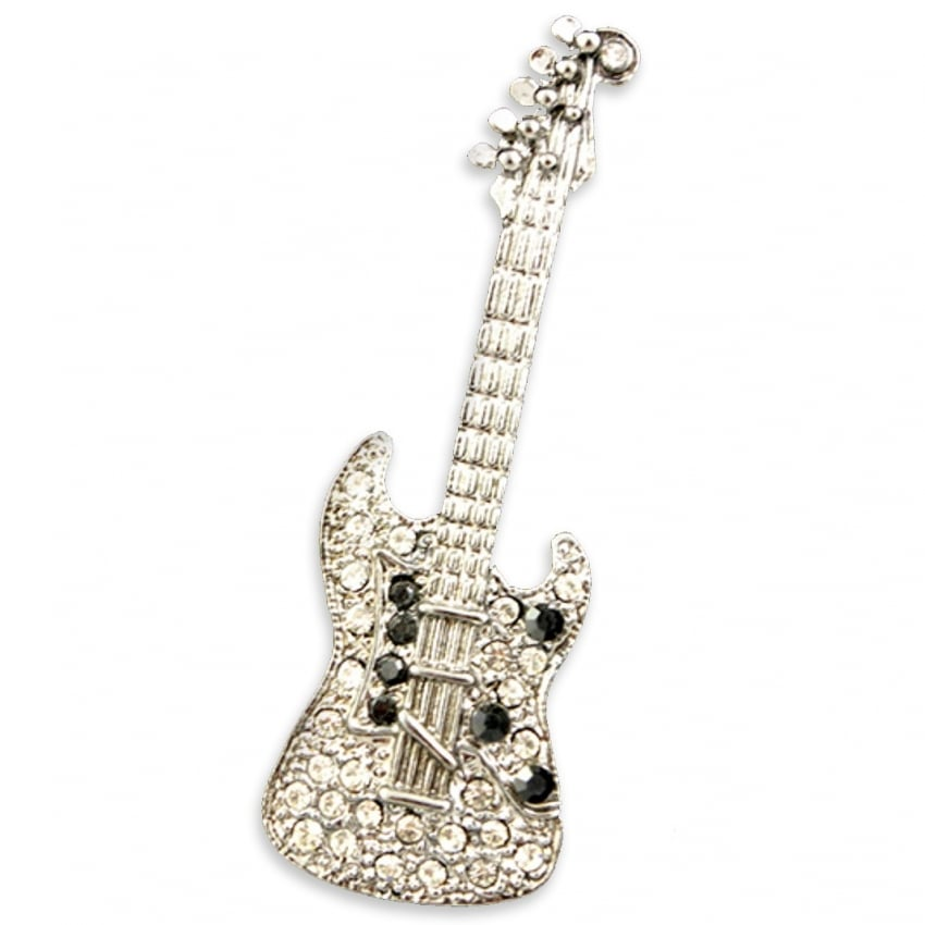 Orchid Designs Electric Guitar Brooch