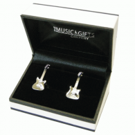Music Gifts Company Electric Guitar Cufflinks