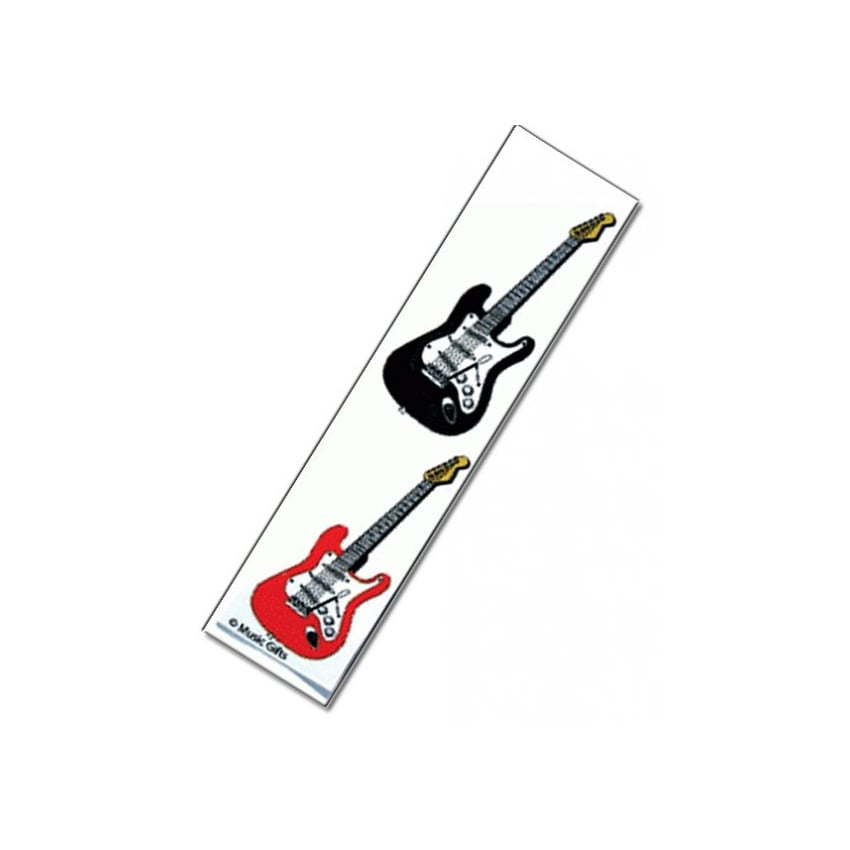 Music Gifts Company Electric Guitars Bookmark
