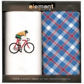 Element Gifts Element Cycling Handkerchief Twin Pack