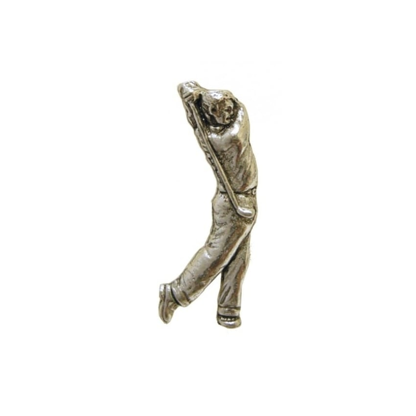 Element Gifts Element Golfer Pewter Pin Badge