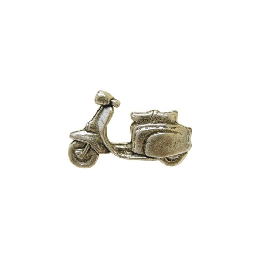 Element Scooter Pewter Pin Badge