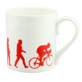 McLaggan Smith Evolution Of The Cyclist Mug