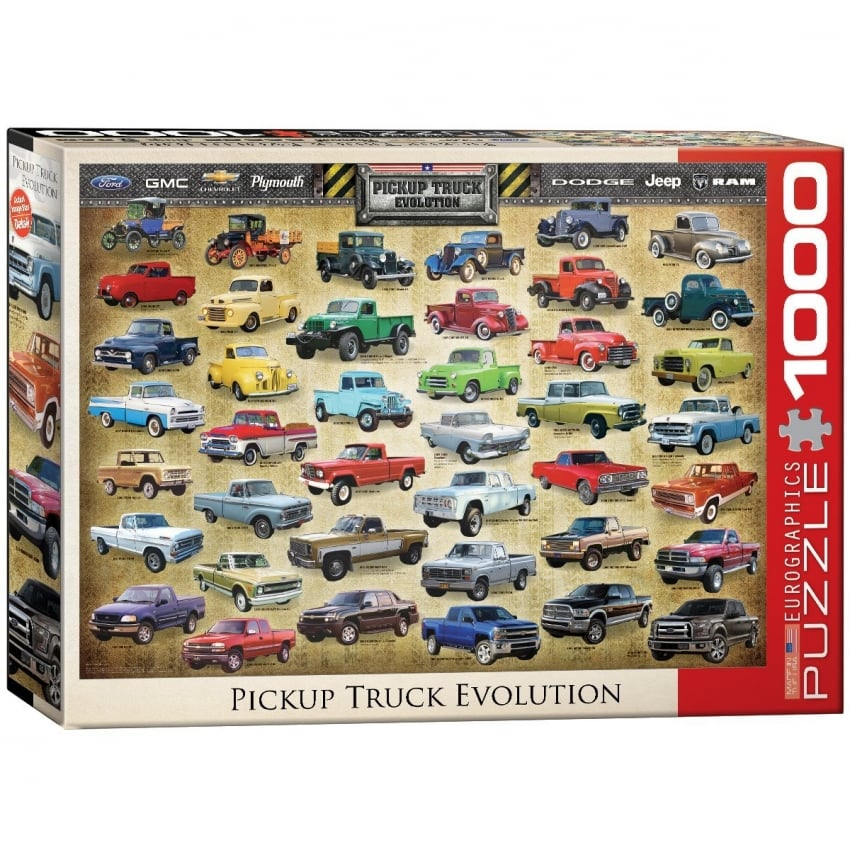EuroGraphics Evolution of the Pick Up Jigsaw (1000 Pieces)