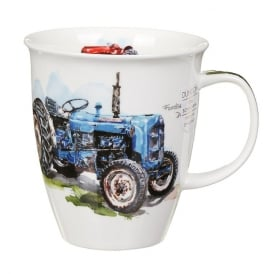 Dunoon Farm Blue Tractor Nevis Mug