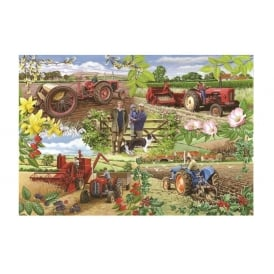 House Of Puzzles Farming Year Jigsaw - 1000 Pieces