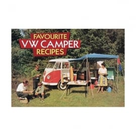 Salmon Art Favourite VW Vamper Recipes Book