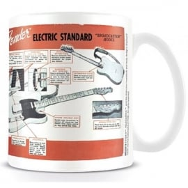 Pyramid Fender Electric Standard Mug
