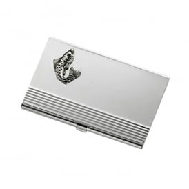 Onyx-Art Fish Business Card Holder