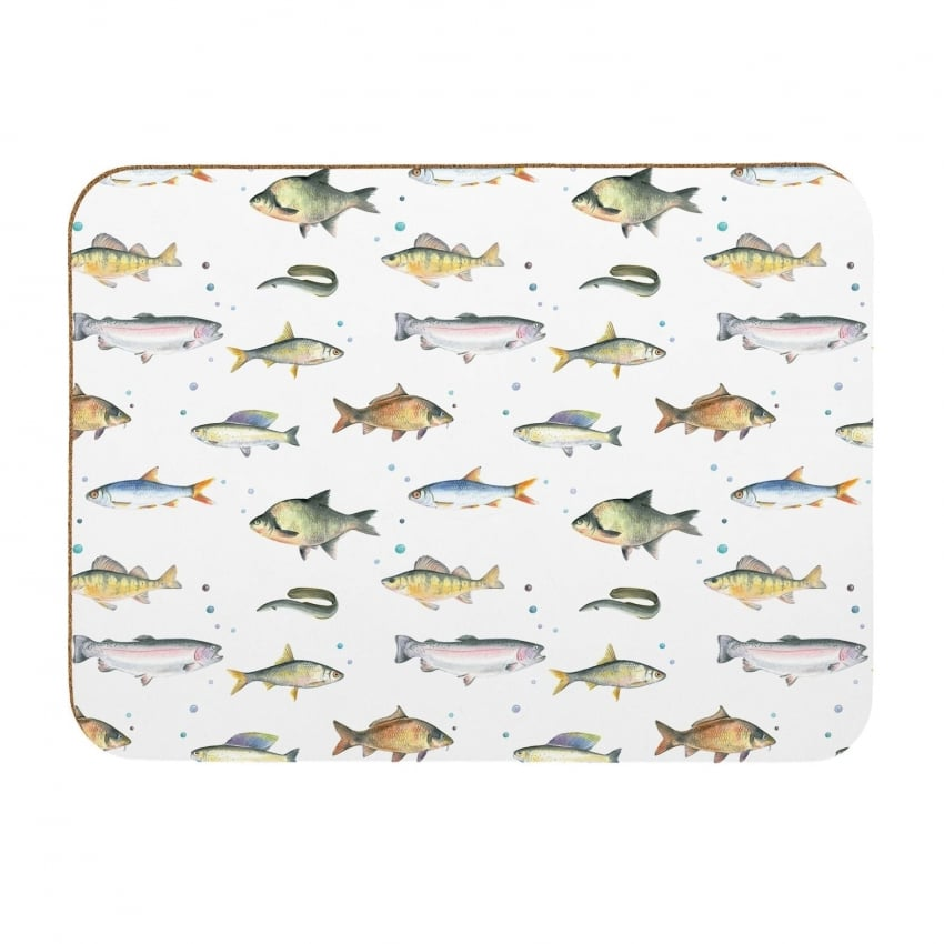 Coleshill Design Fish Placemats - Set of 4 - Ceinwell Campbell