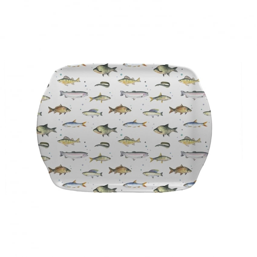 Coleshill Design Fish Scatter Tray - Ceinwell Campbell