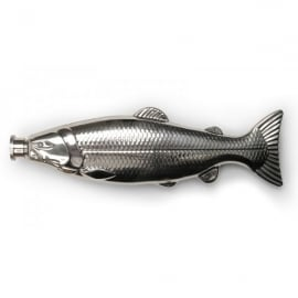 Kikkerland Fish Stainless Steel Flask