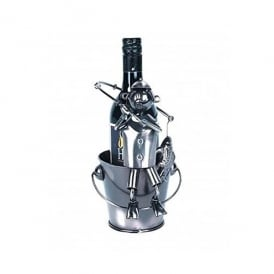 Flame Homeware Fisherman Metal Bottle Holder
