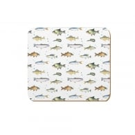 Coleshill Design Fishing Coasters Set of 4 - Ceinwen Campbell