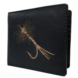 PellMell Fishing Fly Leather Card and Coins Wallet