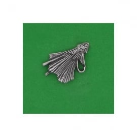 David Hindwood Fishing Fly Pewter Lapel Pin