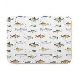 Coleshill Design Fishing Kitchen Board - Ceinwen Campbell