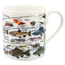 McLaggan Smith Fishing Montage Large Mug