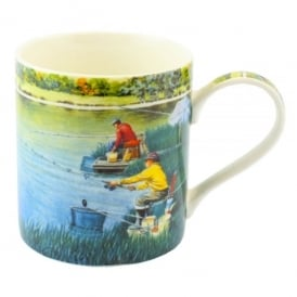 Leonardo Fishing On The Lake Mug