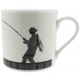 McLaggan Smith Fly Fishing Large Balmoral Mug