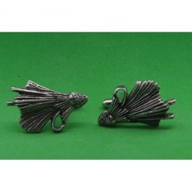 David Hindwood Fly Fishing Pewter Cufflinks