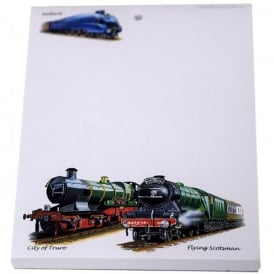 Little Snoring Flying Scotsman A6 Notepad