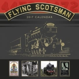 Flying Scotsman Calendar 2017