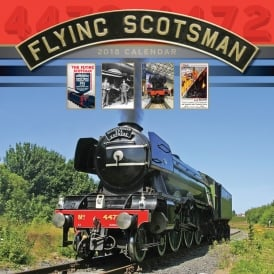 Carousel Calendars Flying Scotsman Calendar 2018