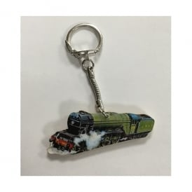 Lark Designs Flying Scotsman Cut Out Keyring