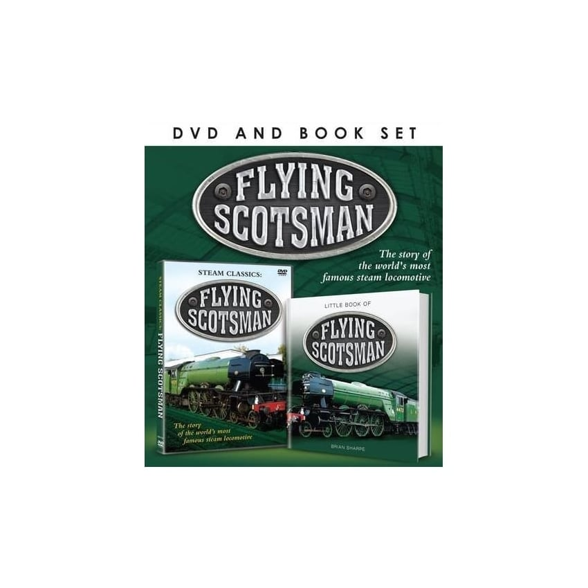 Demand Media Flying Scotsman DVD & Book Set
