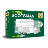 Demand Media Flying Scotsman Jigsaw - 1000 Pieces