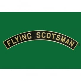 Star Editions Flying Scotsman Name Plate Collectors Tin - Green