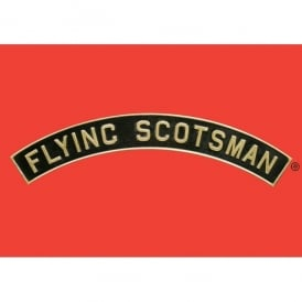 Star Editions Flying Scotsman Name Plate Mug - Red