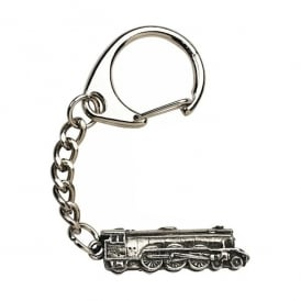 WestAir Flying Scotsman Pewter Keyring