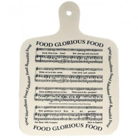 Music Gifts Company Food Glorious Food Chopping Board