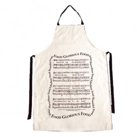 Music Gifts Company Food Glorious Food Kitchen Apron