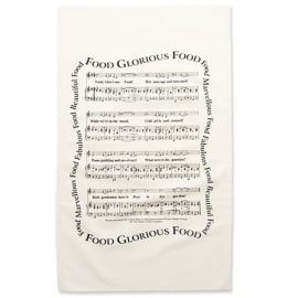 Music Gifts Company Food Glorious Food Tea Towel