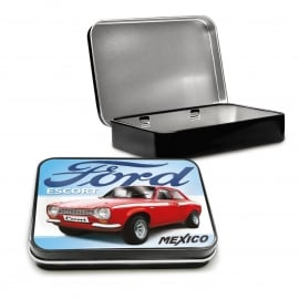 Fiesta Studios  Ford Keepsake Tin - Escort Mexico - Set of 3