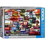 EuroGraphics Ford Mustang Vintage Ads Jigsaw (1000 Pieces)